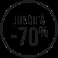 Jusqu'à -70%