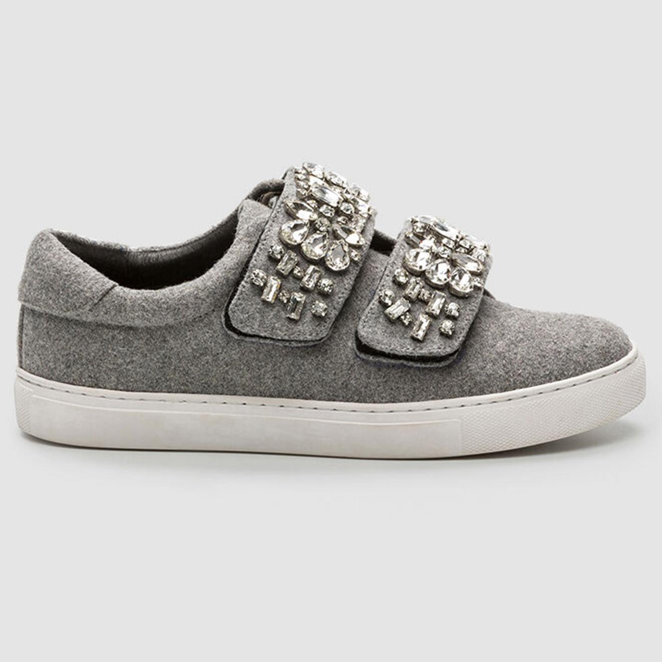 Sneakers Edya grises - Cosmoparis - Modalova