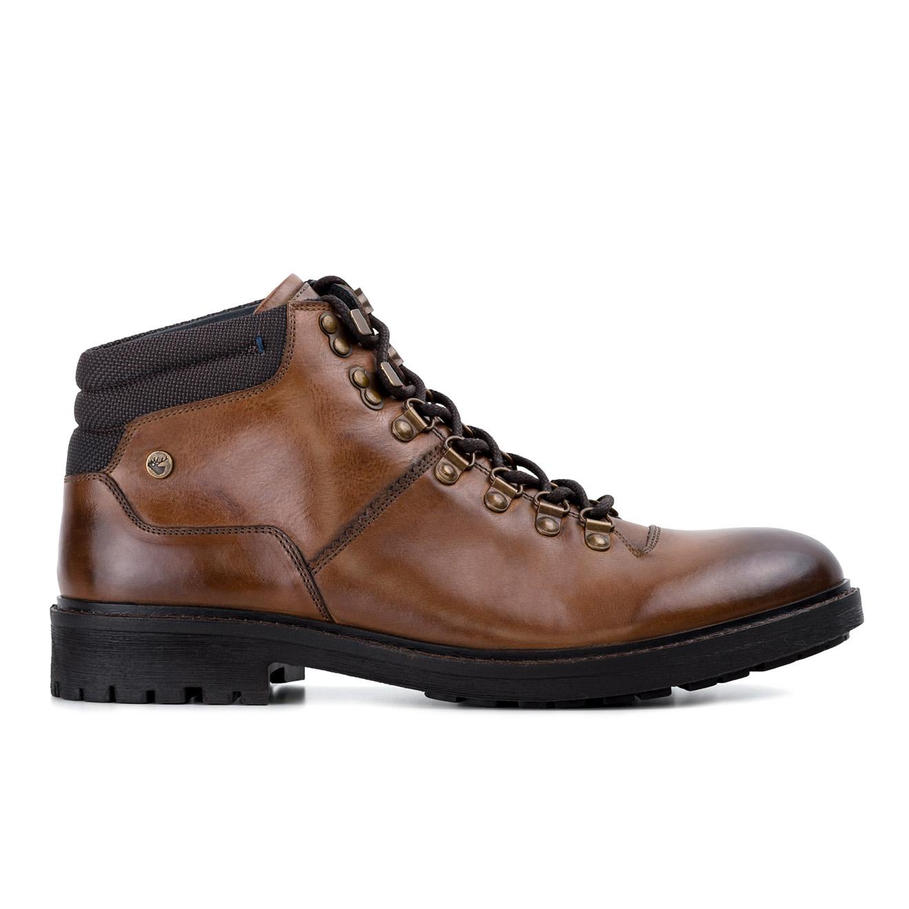 Boots en Cuir Jamie cognac