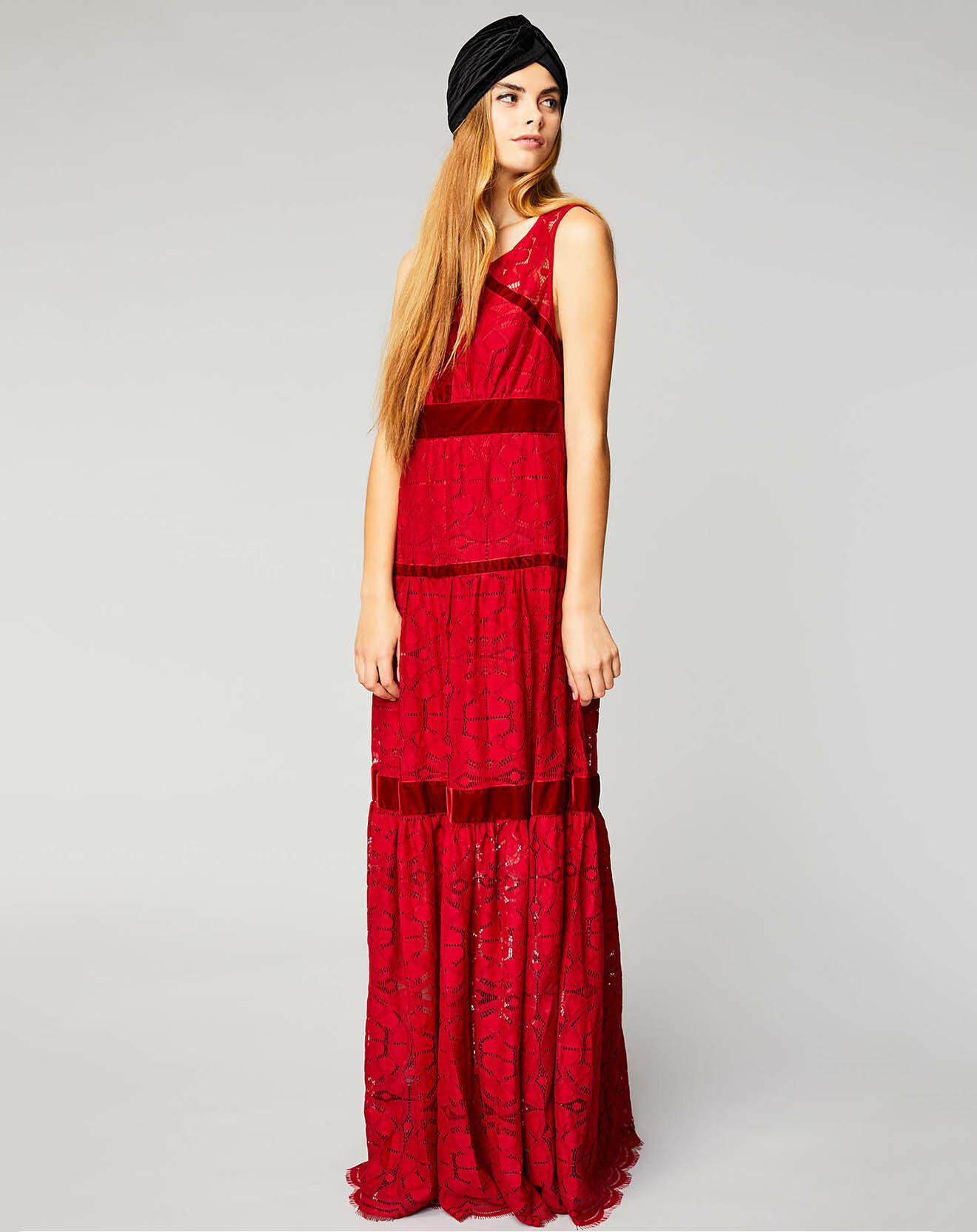Robe Reveillon rouge