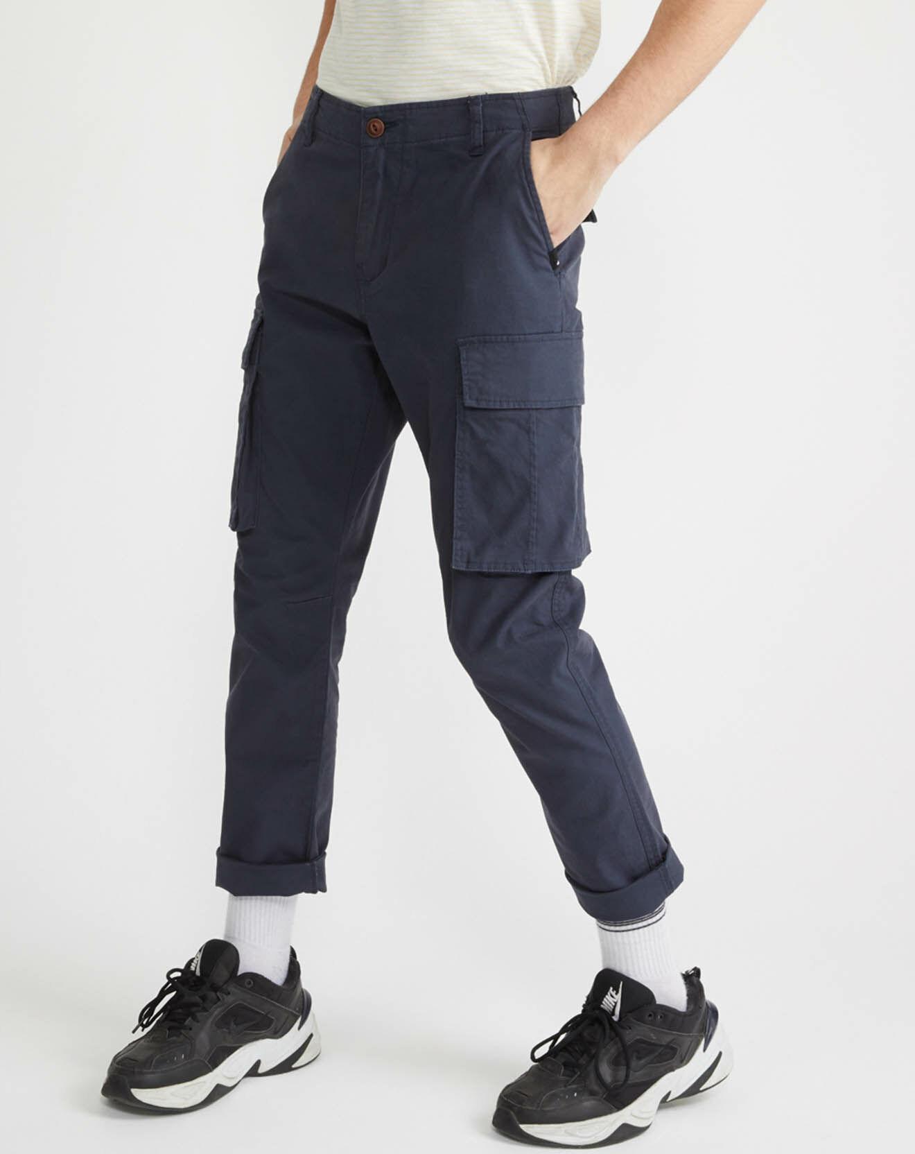 Pantalon Cargo Free Mantle Stretch Flex bleu foncé - Quiksilver - Modalova