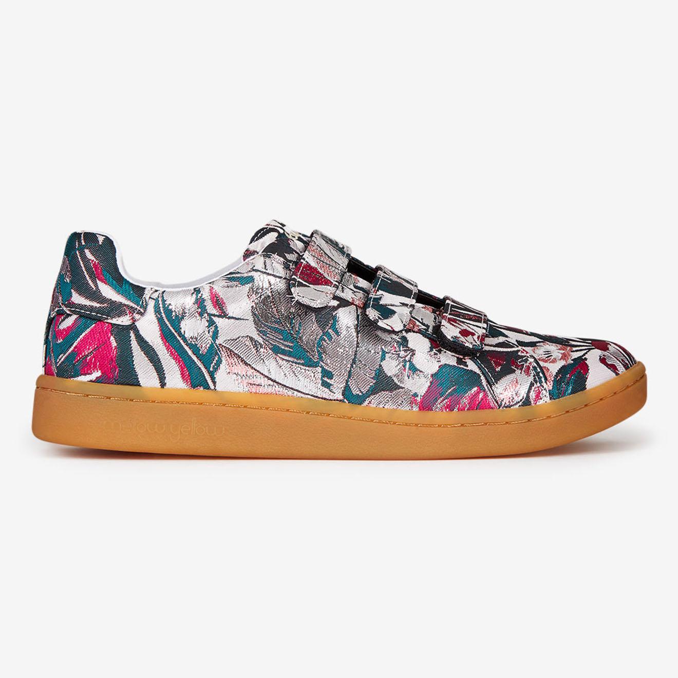 Sneakers Fatilde en Toile rose/vert - Mellow Yellow - Modalova