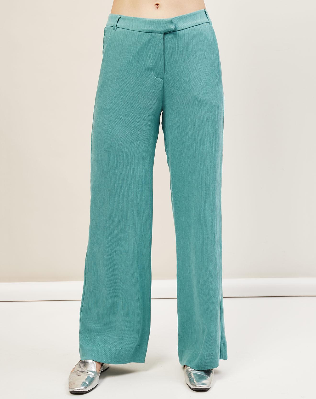 Pantalon Many bleu turquoise - Cop Copine - Modalova