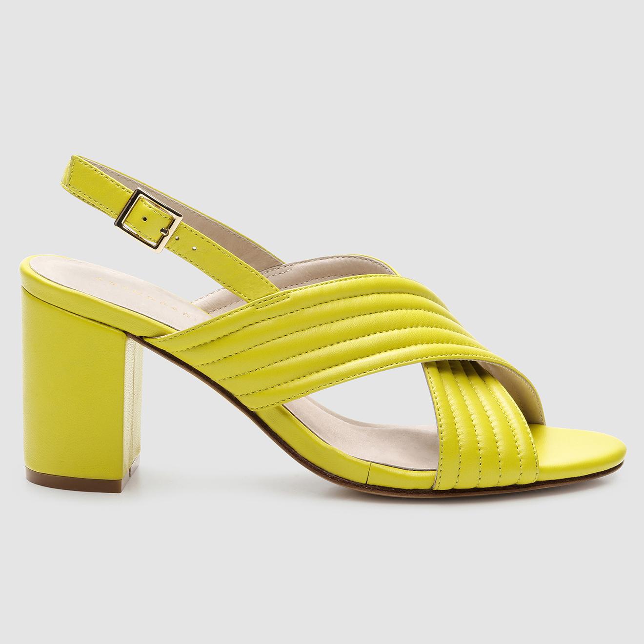 Sandales en Cuir Hilin - Talon 7 cm - Cosmoparis - Modalova