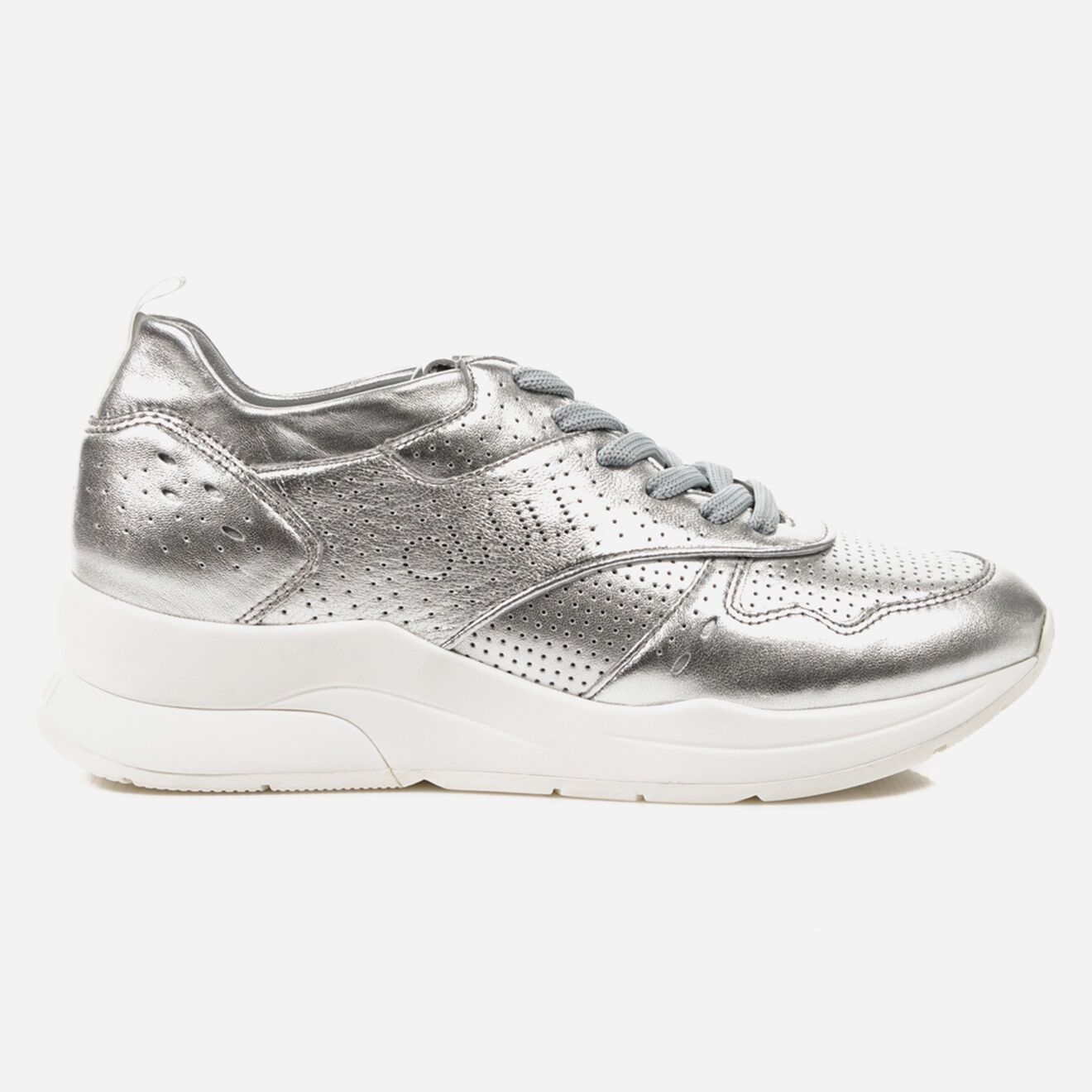 Sneakers en Cuir Karlie argentées - Liu-Jo - Modalova