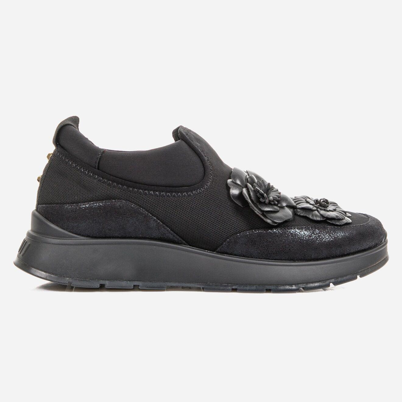 Sneakers en Cuir & Mesh Asia noires - Liu-Jo - Modalova