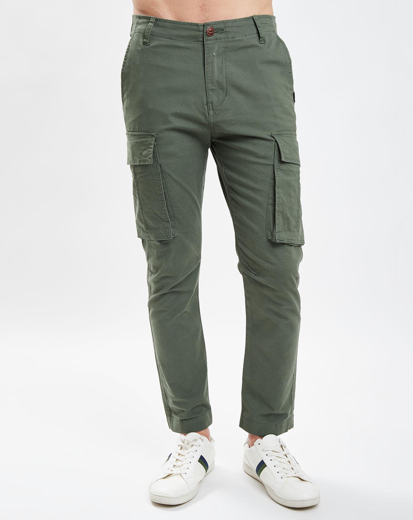 Pantalon Cargo Free Mantle Stretch Flex kaki - Quiksilver - Modalova