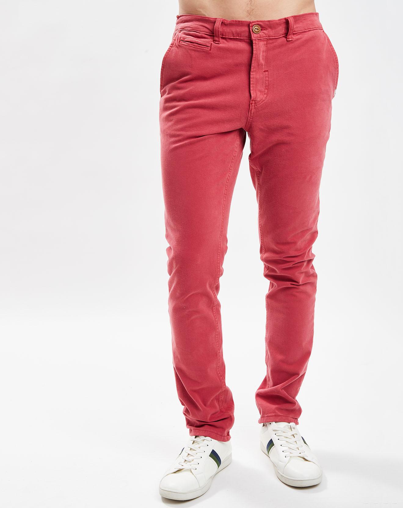 Pantalon chino slim Krandy rouge - Quiksilver - Modalova