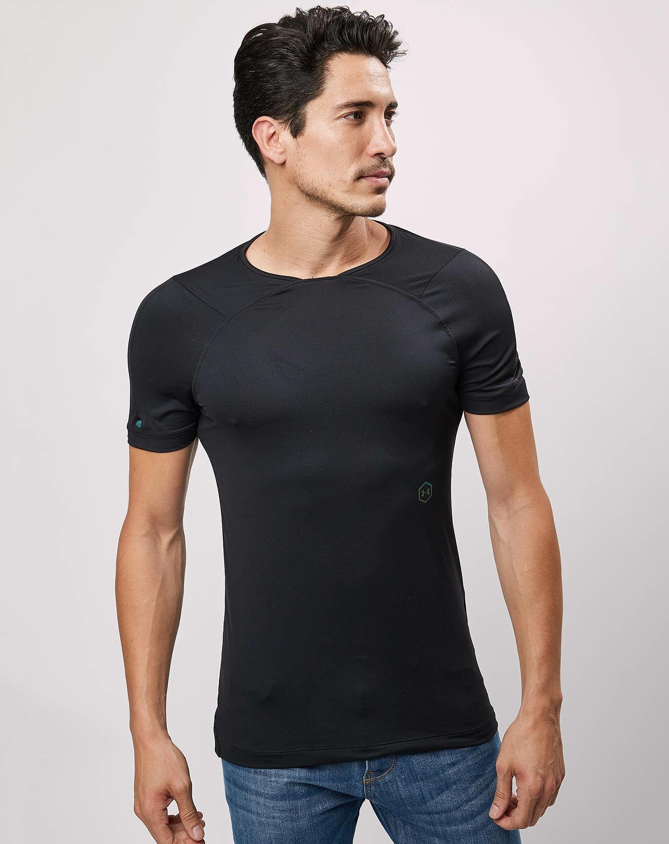 T-Shirt HG Rush noir - Under Armour - Modalova