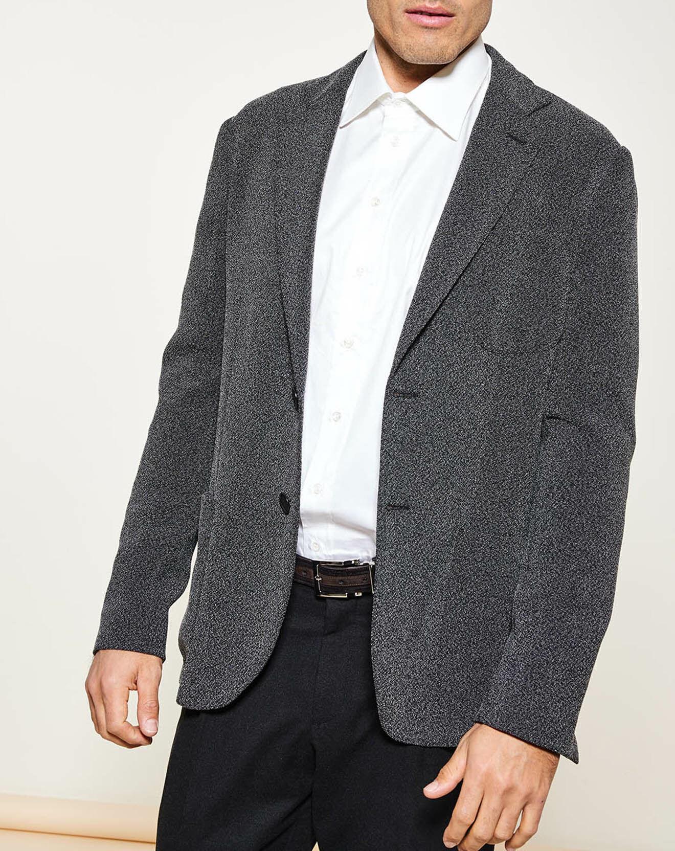 Veste de costume ajustée - Giorgio Armani - Modalova