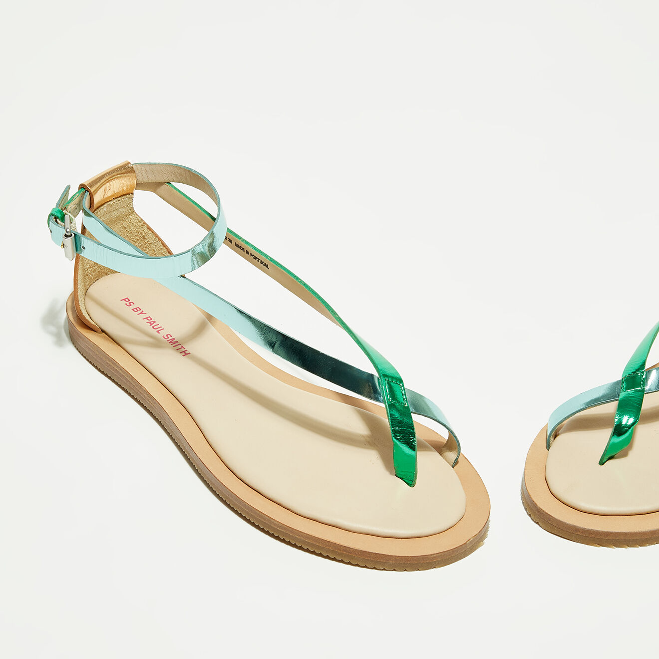Sandales en Cuir Lilja vertes - Paul Smith - Modalova