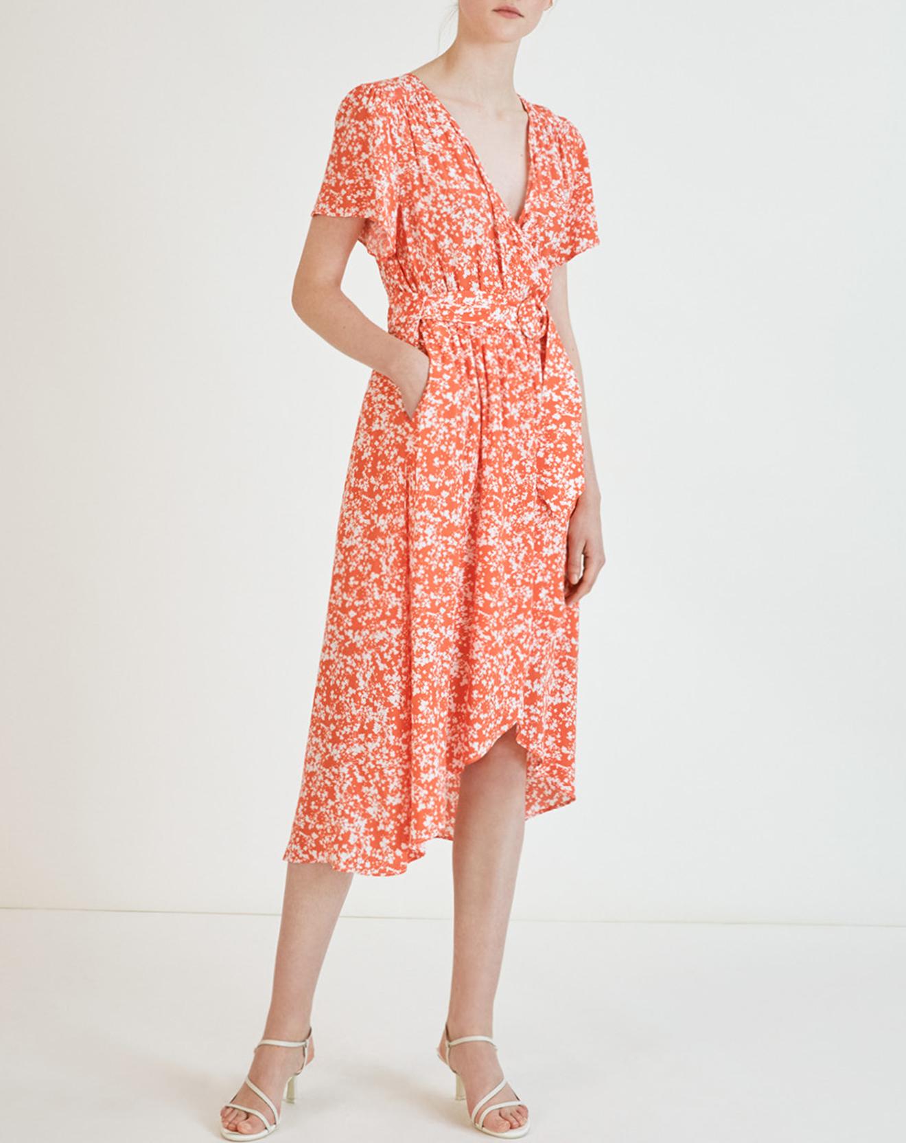 Robe Cassis imprimée geranium - Suncoo - Modalova