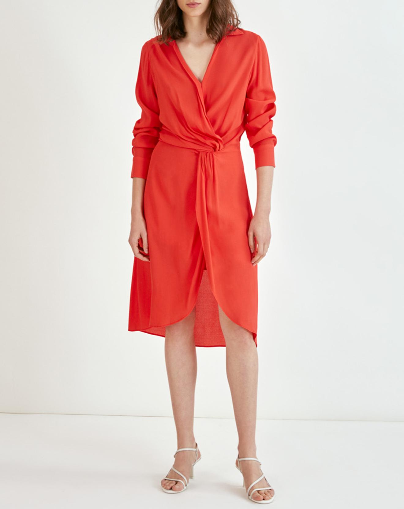 Robe Carita geranium - Suncoo - Modalova