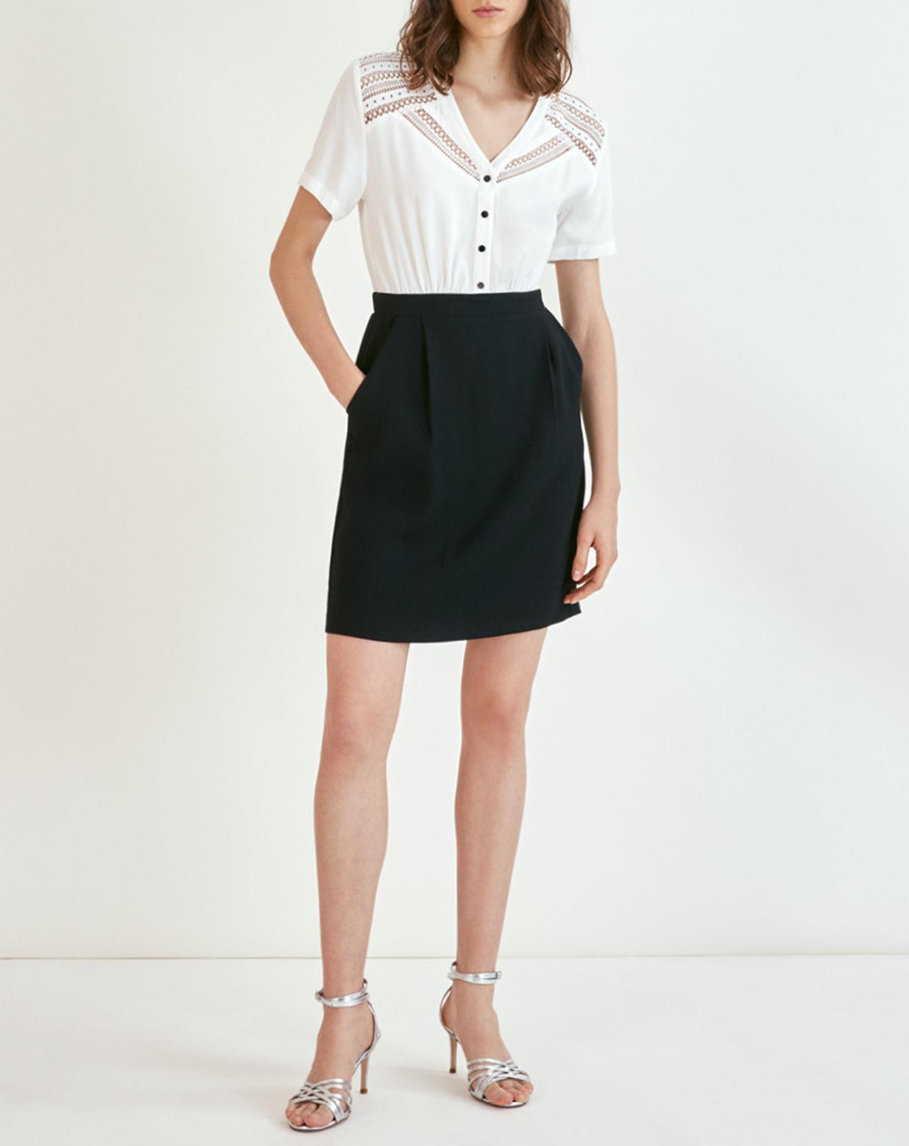 Robe Cristal blanc/noir - Suncoo - Modalova