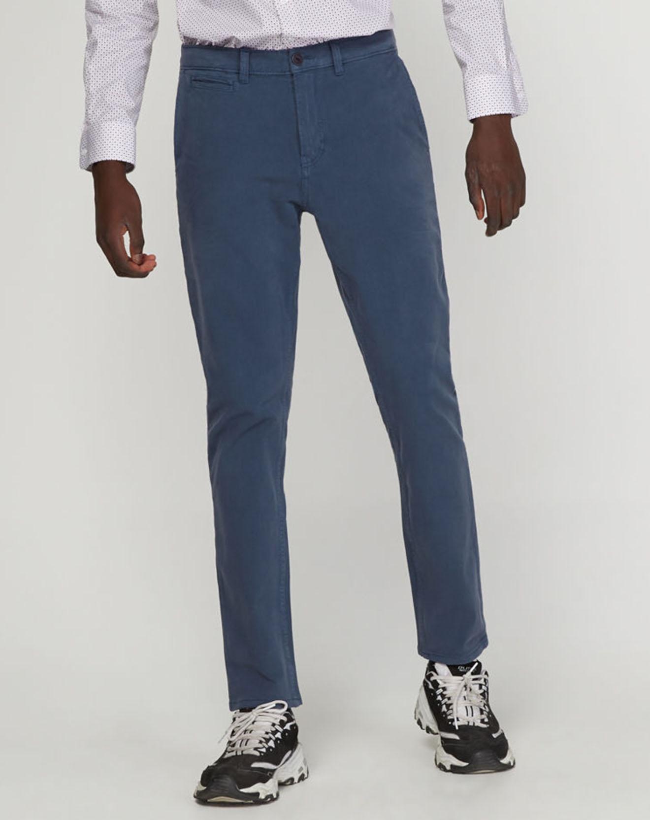Pantalon chino Slim Krandi bleu - Quiksilver - Modalova
