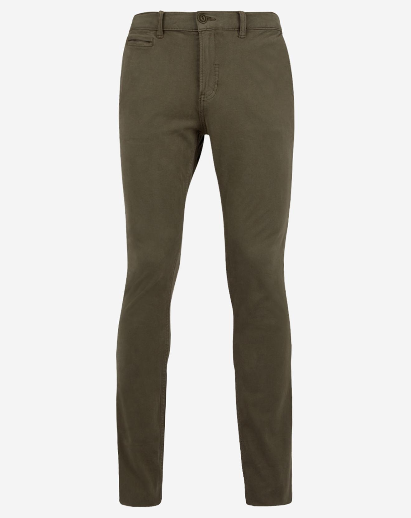 Pantalon chino Slim Krandi kaki - Quiksilver - Modalova