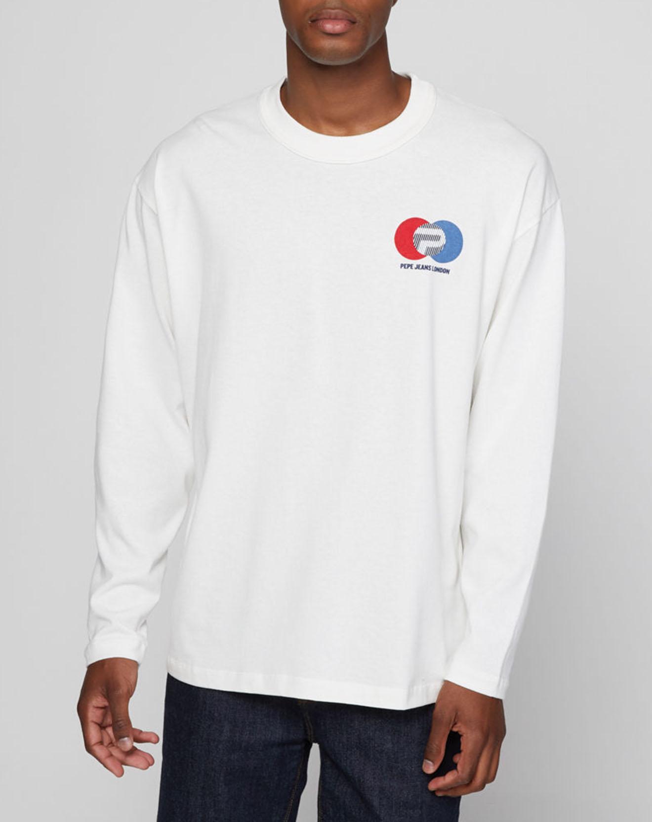 T-Shirt Jeremy Archive blanc - Pepe Jeans - Modalova
