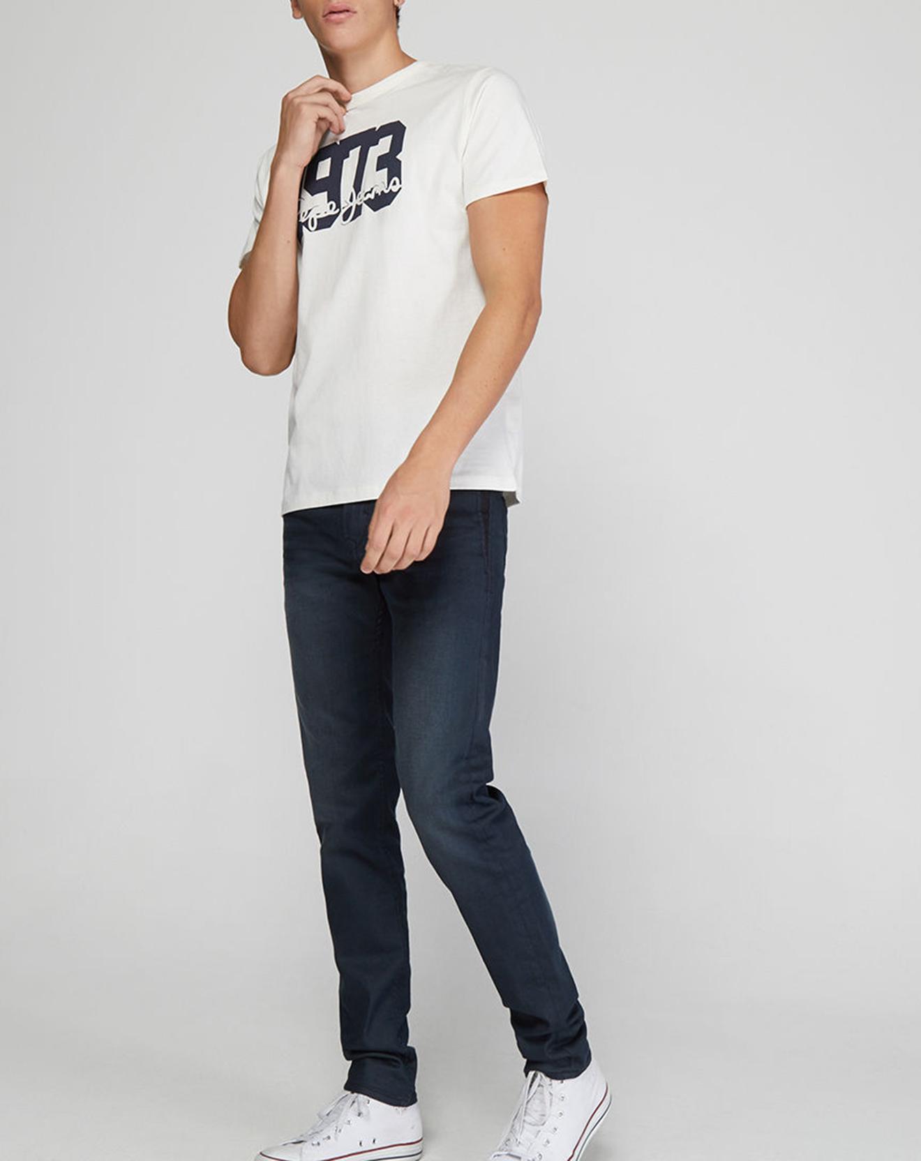 T-Shirt Kurt 1973 blanc - Pepe Jeans - Modalova
