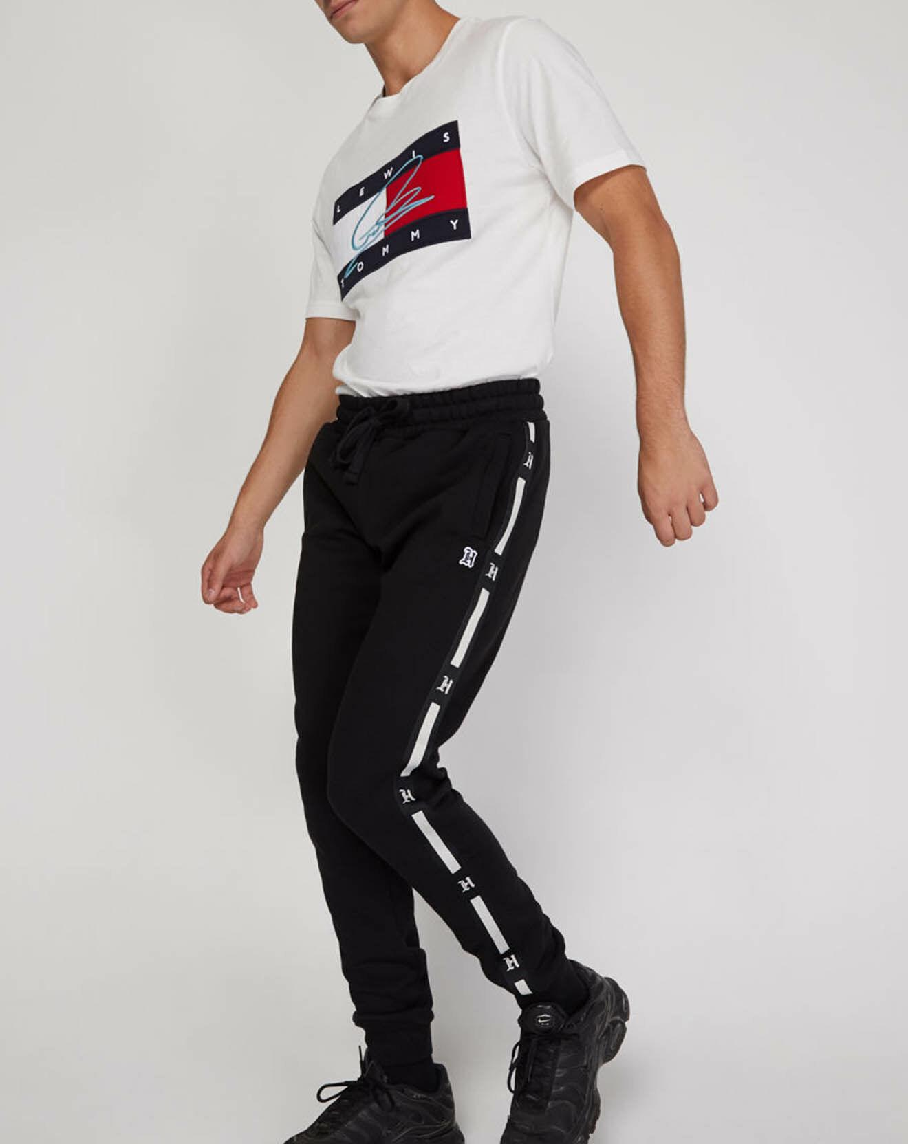 Jogging bande Lewis Hamilton x noir - Tommy Hilfiger - Modalova