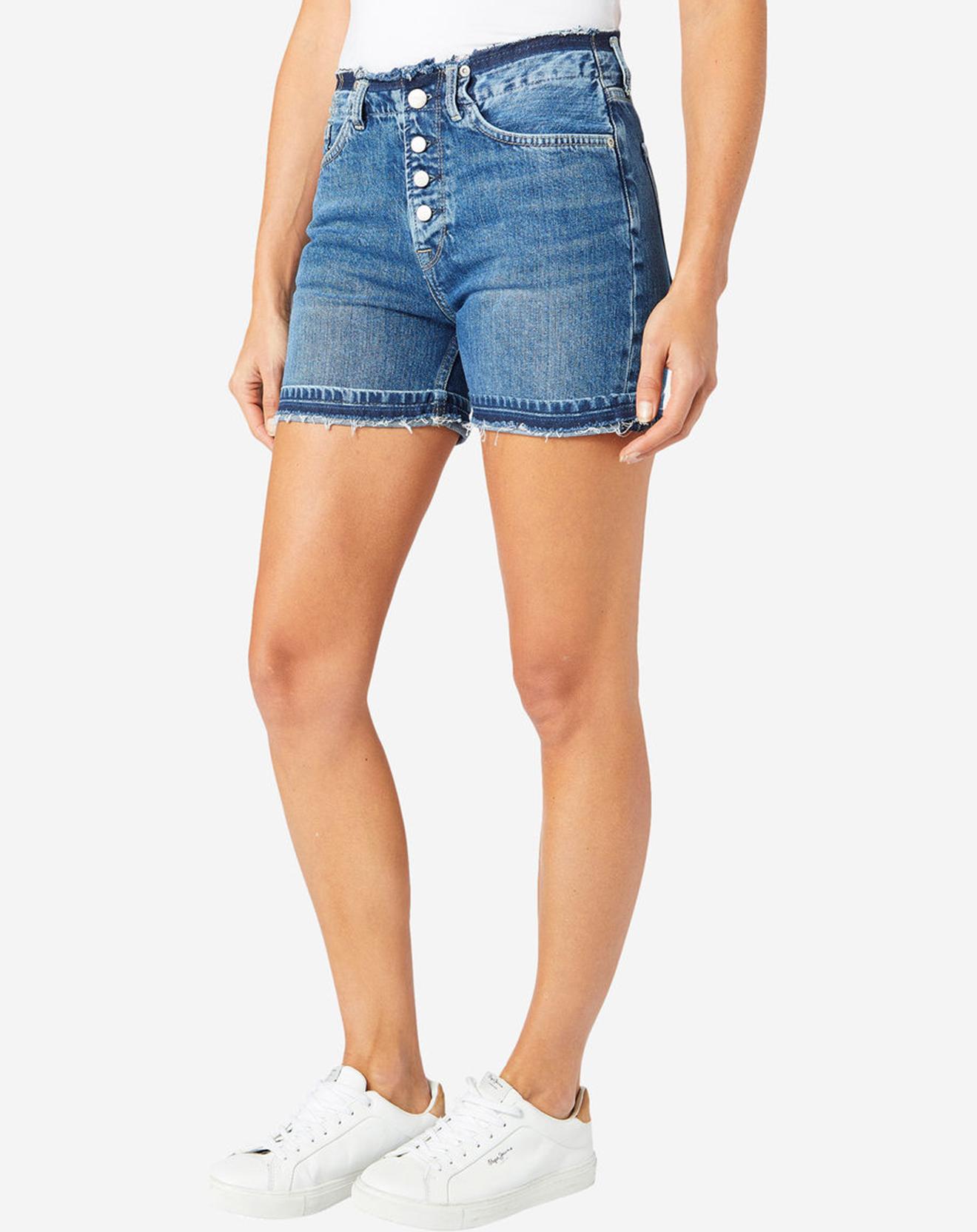 Short en jean Frange Mode bleu - Pepe Jeans - Modalova