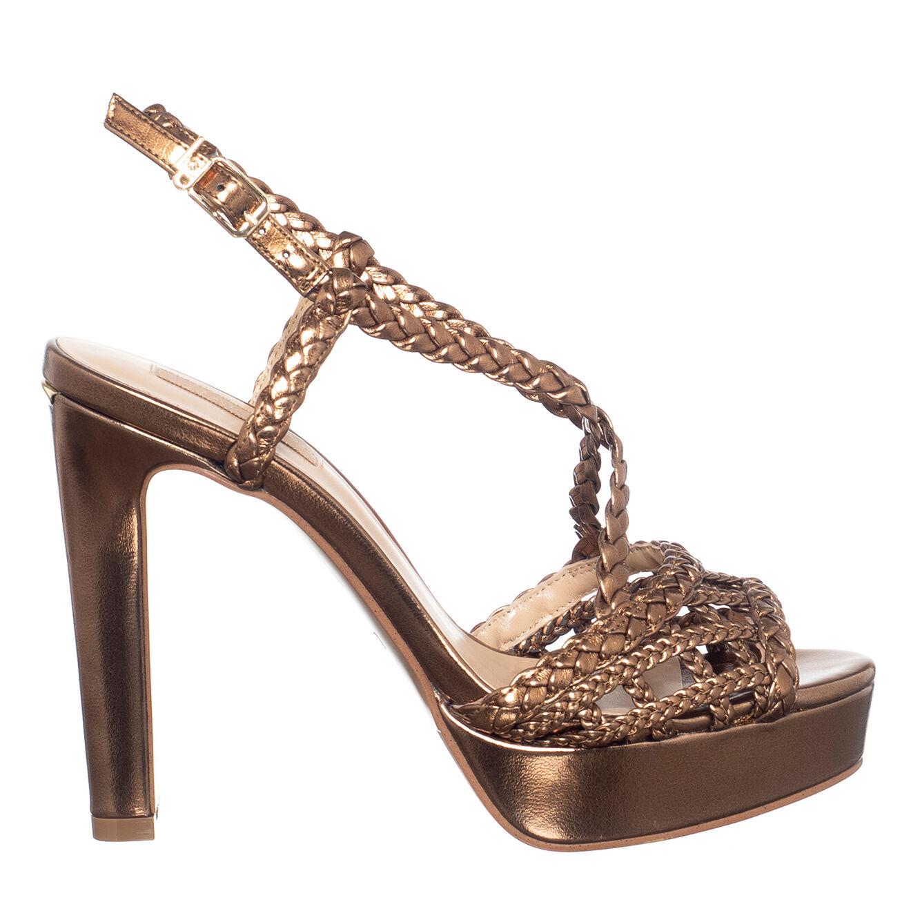 Sandales en Cuir Jada bronze - Talon 13 cm - Liu-Jo - Modalova