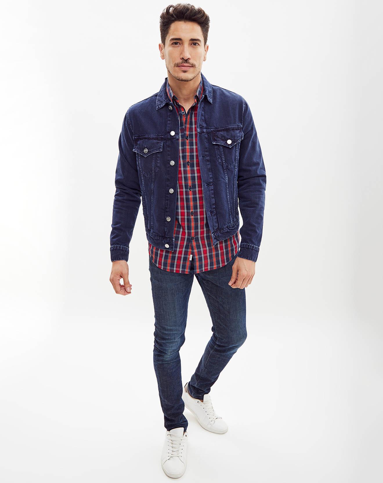 Veste en jean bleue - Pepe Jeans - Modalova