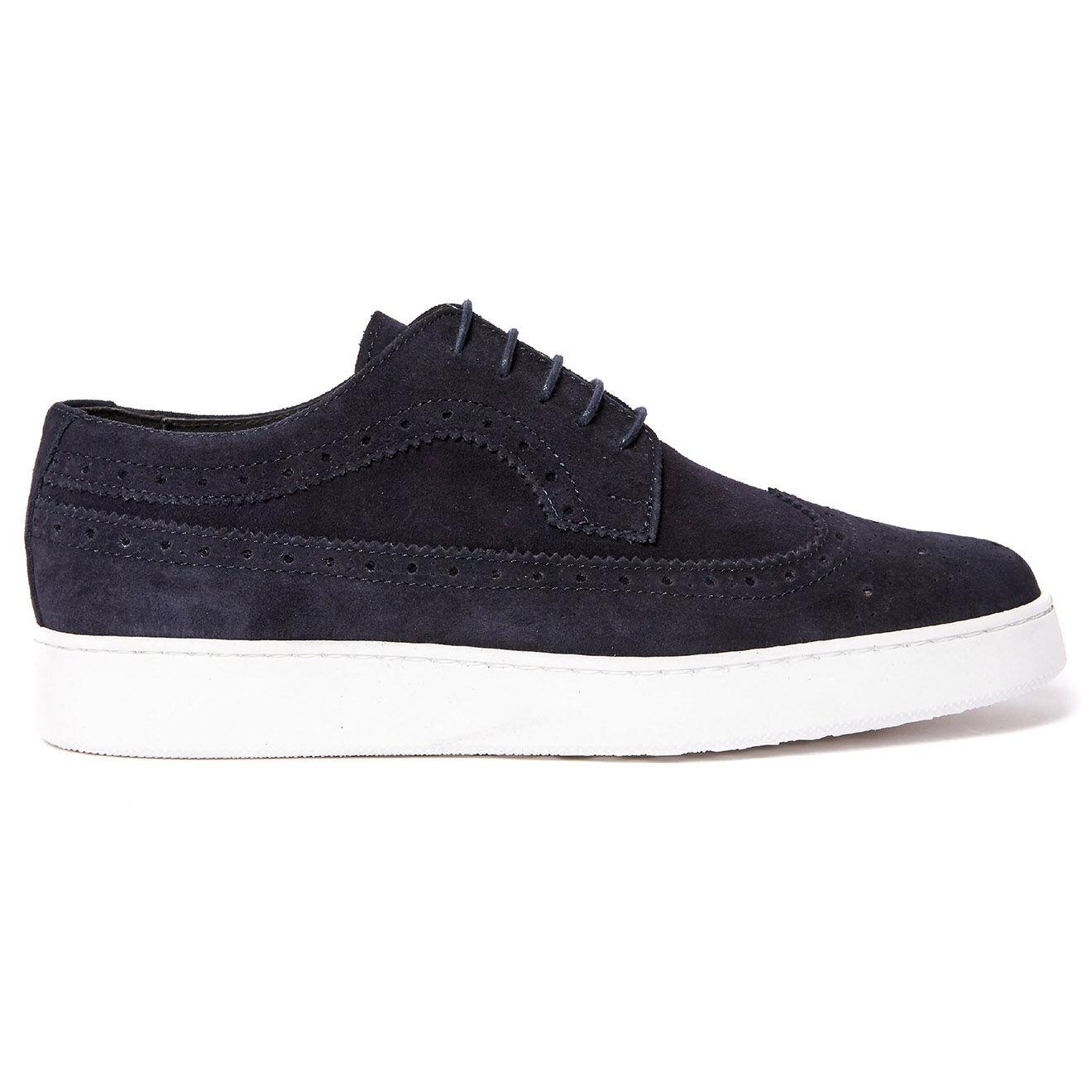 Sneakers en Velours de Cuir Michel - Frank Daniel - Modalova