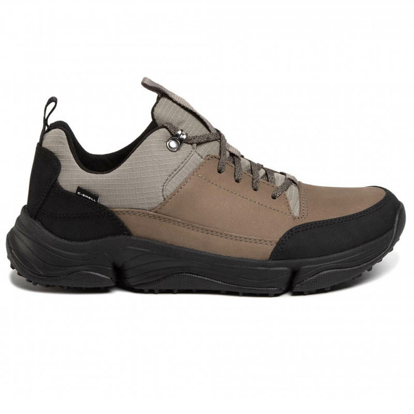 Sneakers Tri Path Walk noir/gris/marron - Clarks - Modalova