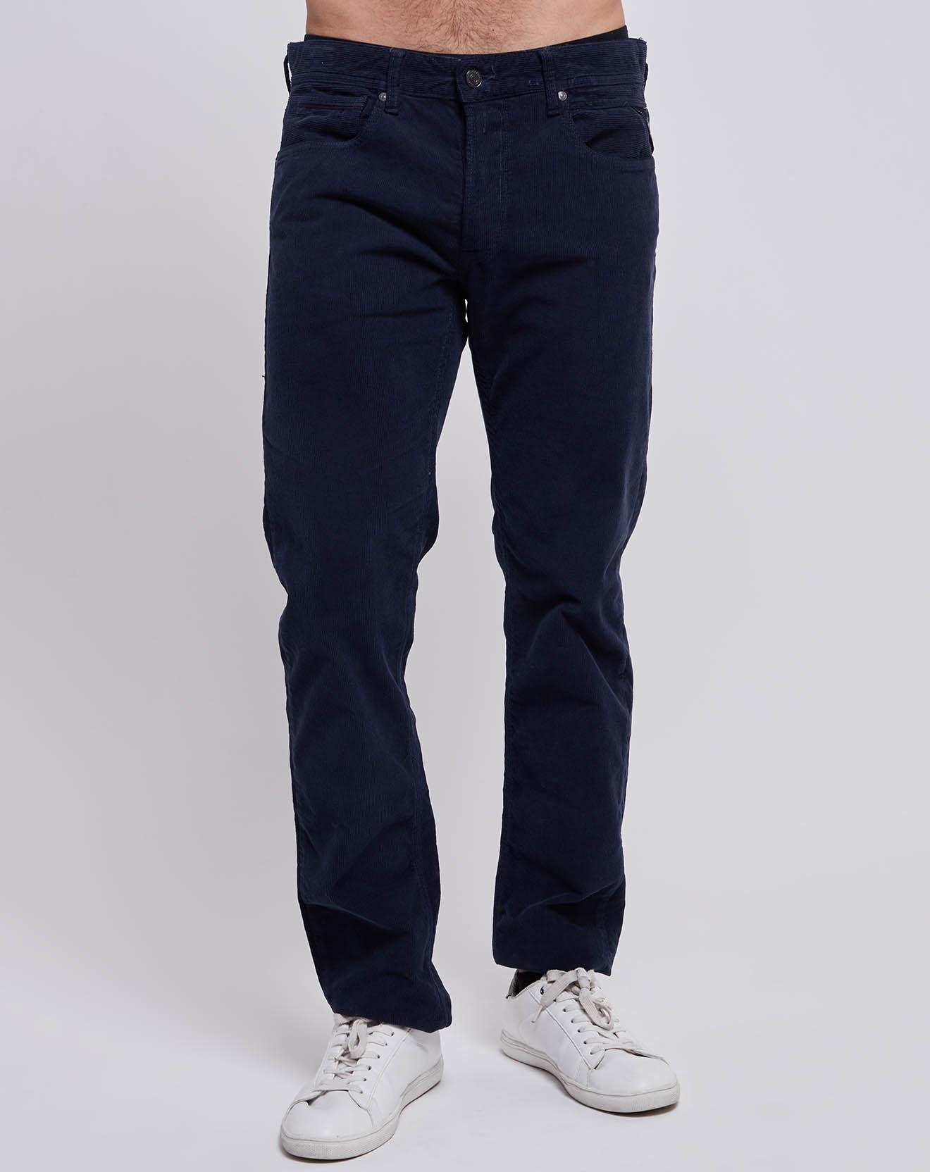 Pantalon en Velours bleu - Replay - Modalova