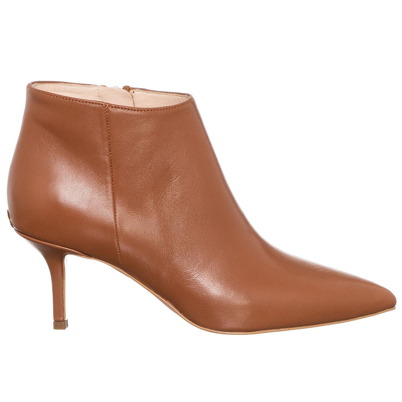Boots en Cuir Audrey marron - Talon 7 cm - Liu-Jo - Modalova