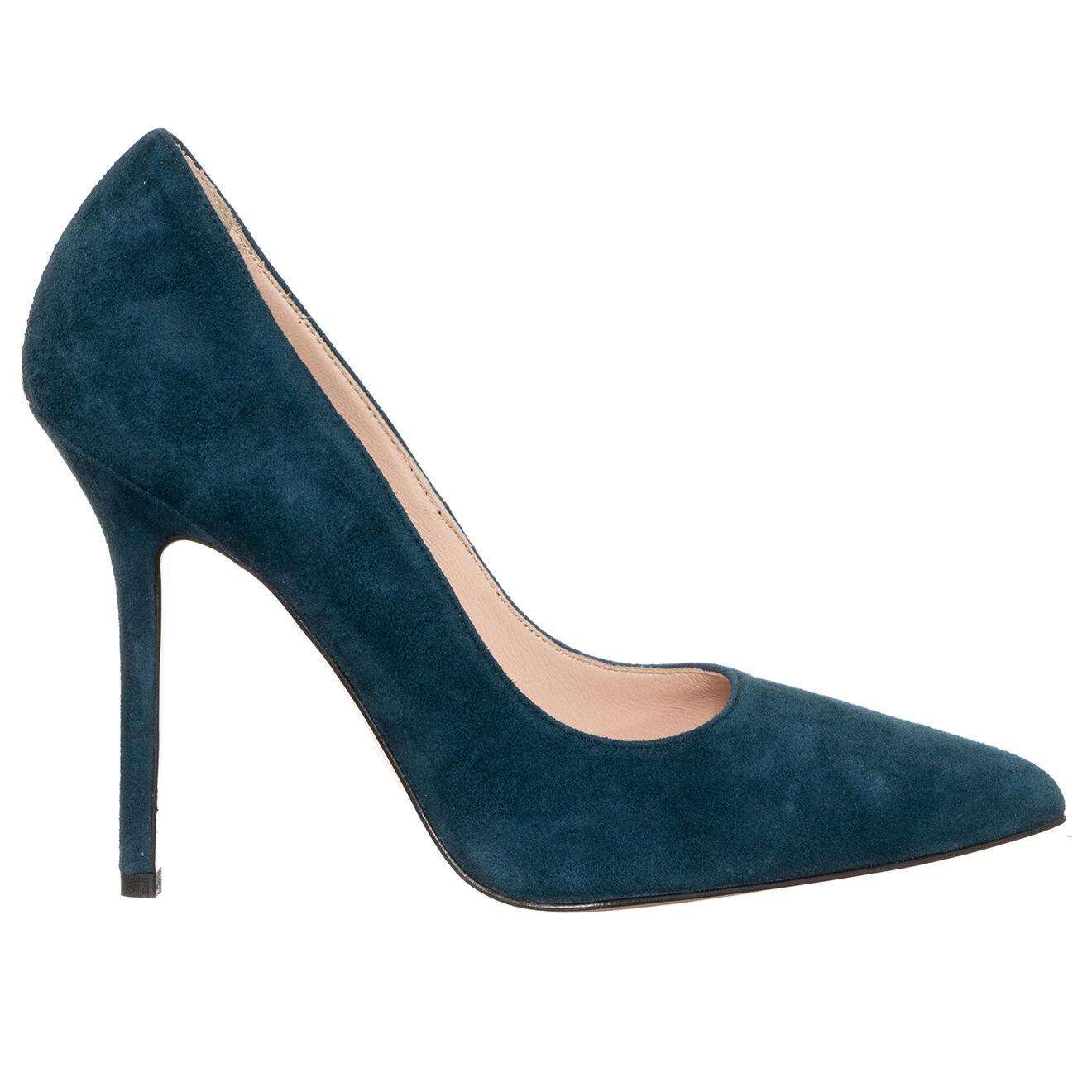 Escarpins en Velours de Cuir Marilyn bleus - Talon 10 cm - Liu-Jo - Modalova