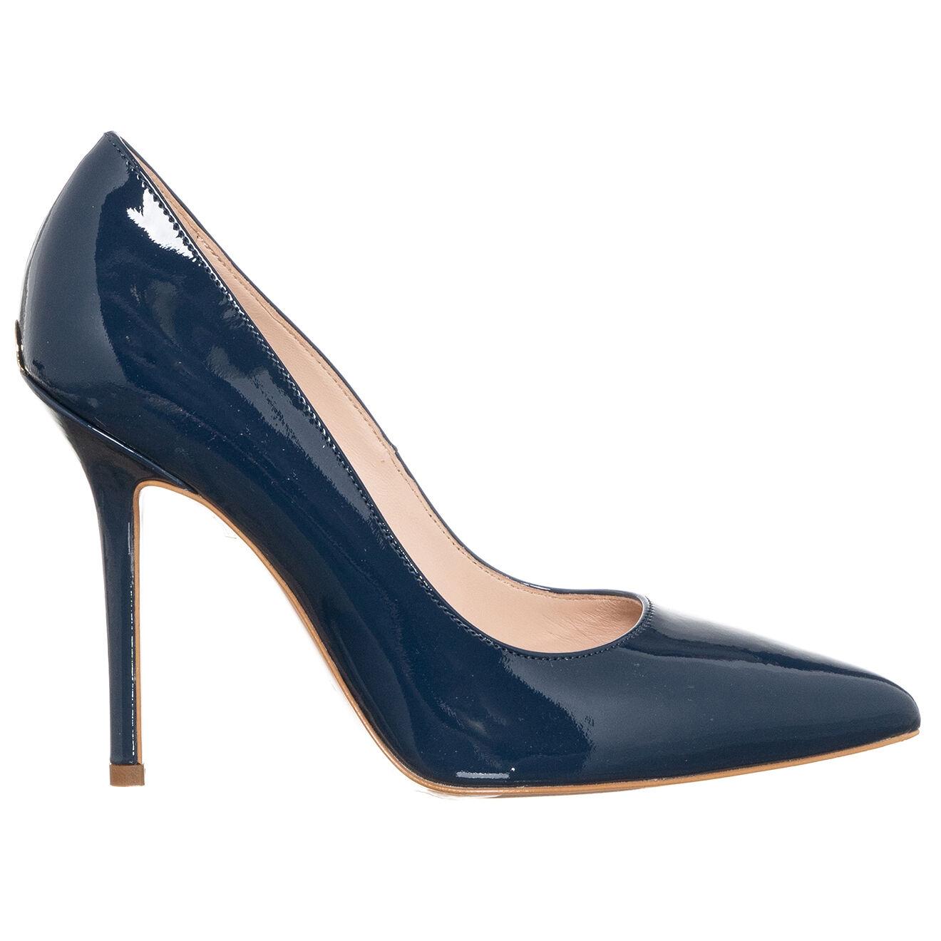 Escarpins en Cuir vernis Marilyn bleus - Talon 10 cm - Liu-Jo - Modalova