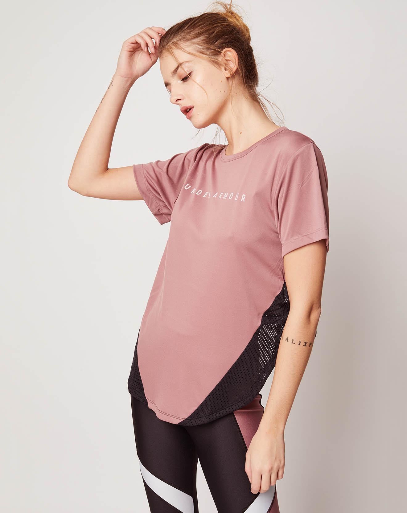 T-Shirt HeatGear® Armour Sport Mesh Panel - Under Armour - Modalova