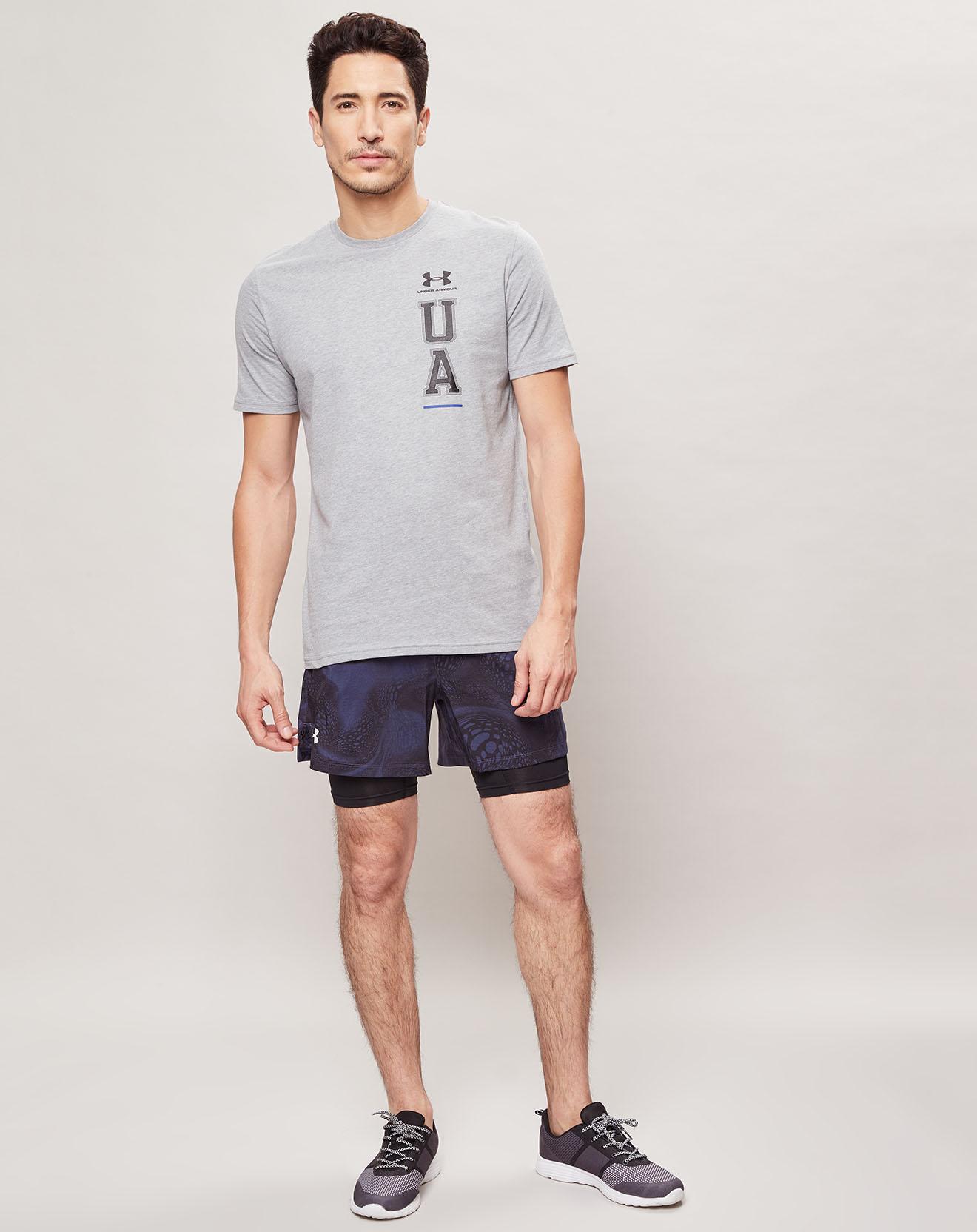 T-Shirt Vertical Left Chest Logo - Under Armour - Modalova
