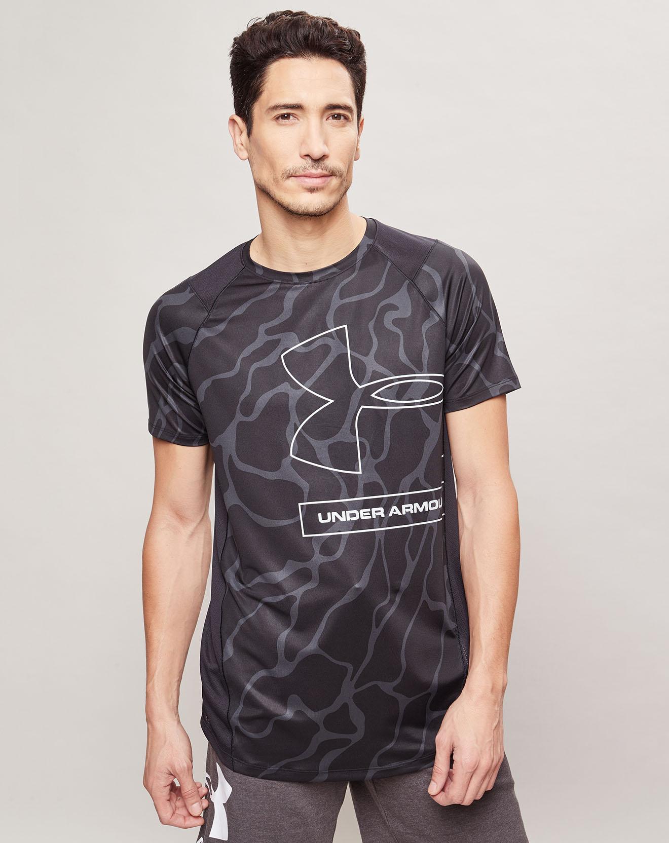 T-Shirt Mk1 Tonal Print noir - Under Armour - Modalova