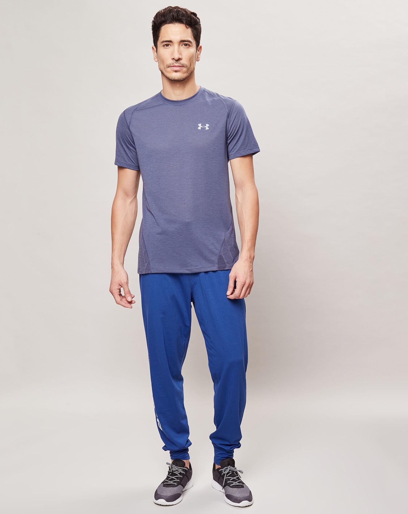 T-Shirt Streaker 2.0 Shift bleu - Under Armour - Modalova