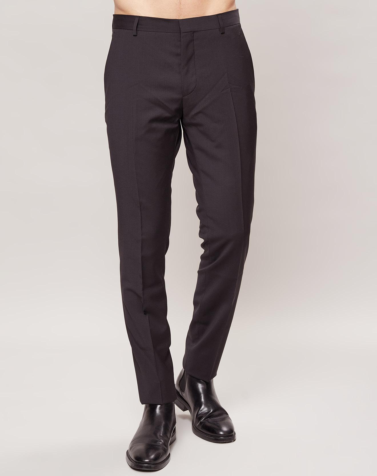 Pantalon 100% Laine Slim fit Pittsburgh-Bm - Calvin Klein - Modalova