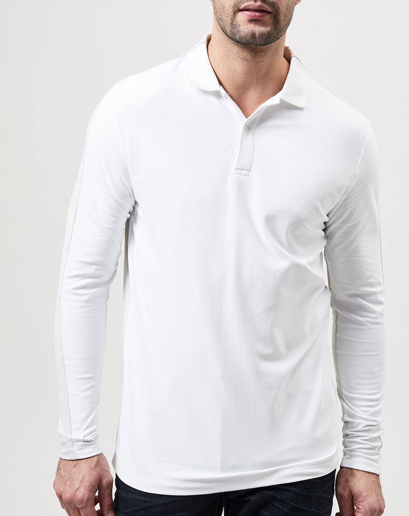 Polo Stretch bicolore blanc/écru - Colmar - Modalova