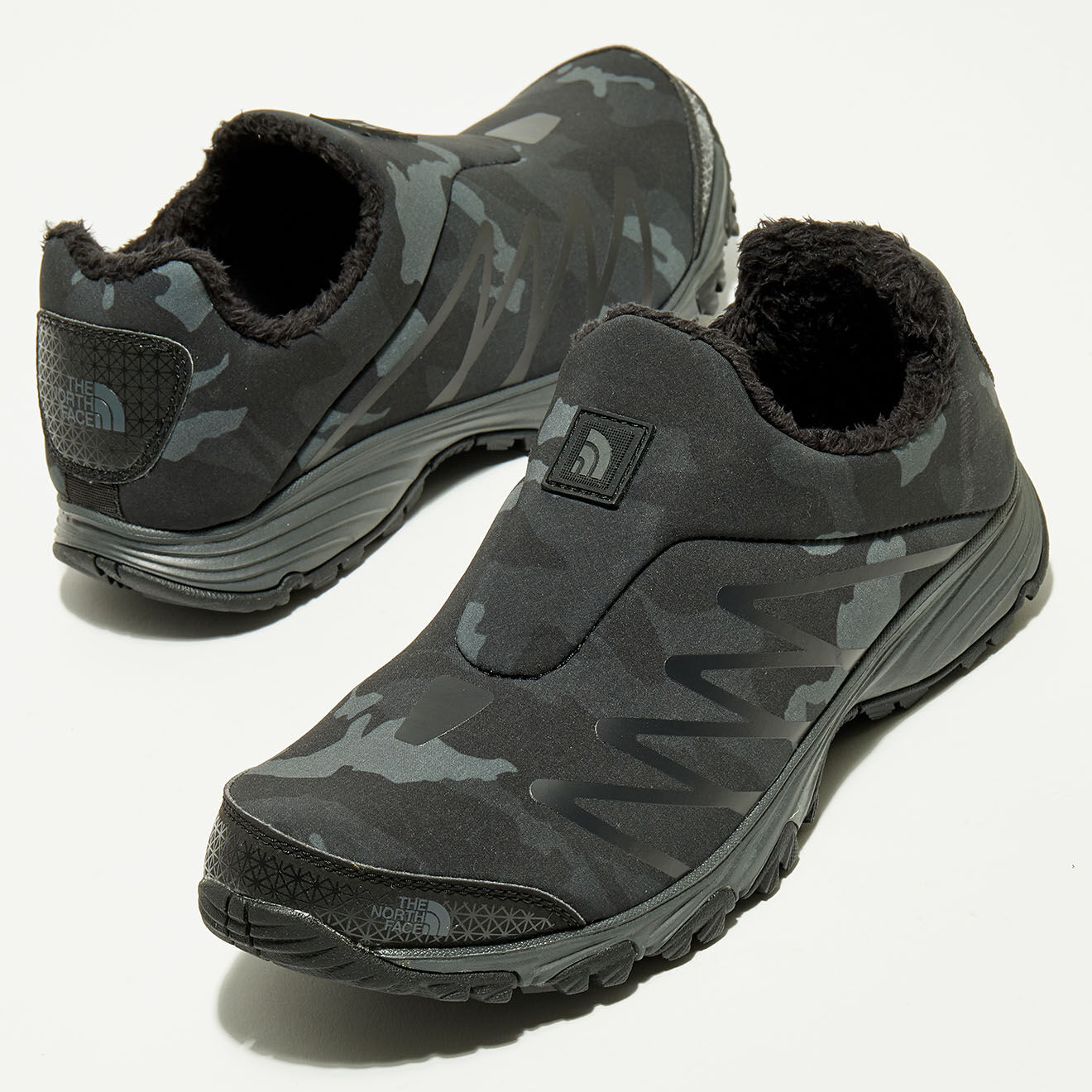Sneakers fourrées trekking Venture Memo Camo - The North Face - Modalova