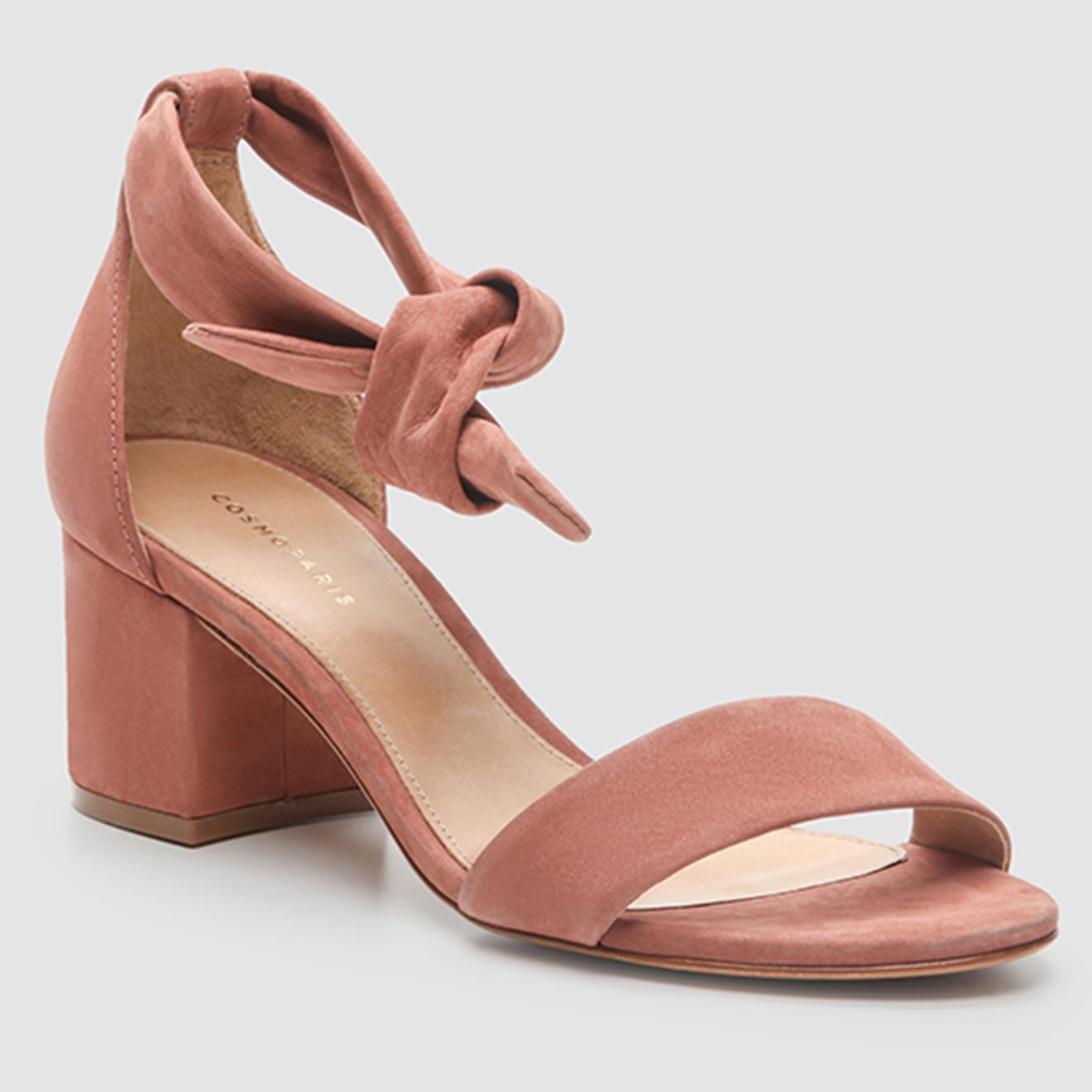 Sandales en Velours de Cuir Ayane - Cosmoparis - Modalova