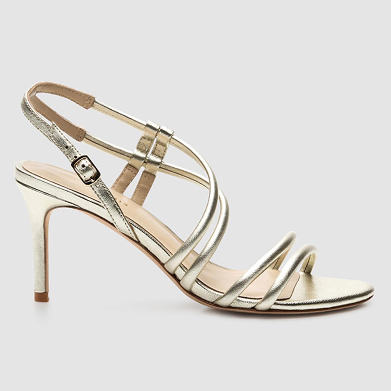 Sandales en Cuir Douli - Talon 7 cm - Cosmoparis - Modalova