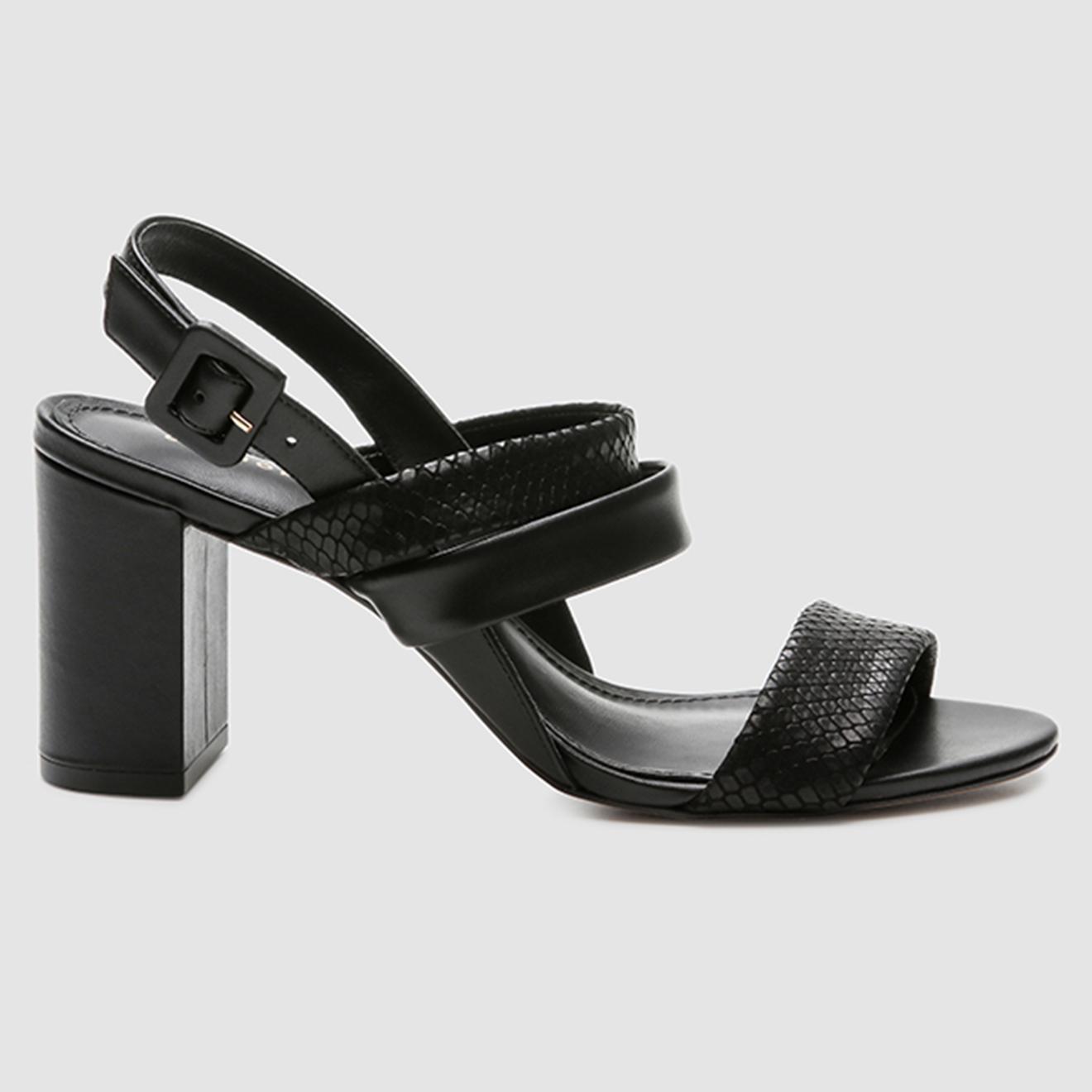 Sandales en Cuir python Javou - Talon 7 cm - Cosmoparis - Modalova