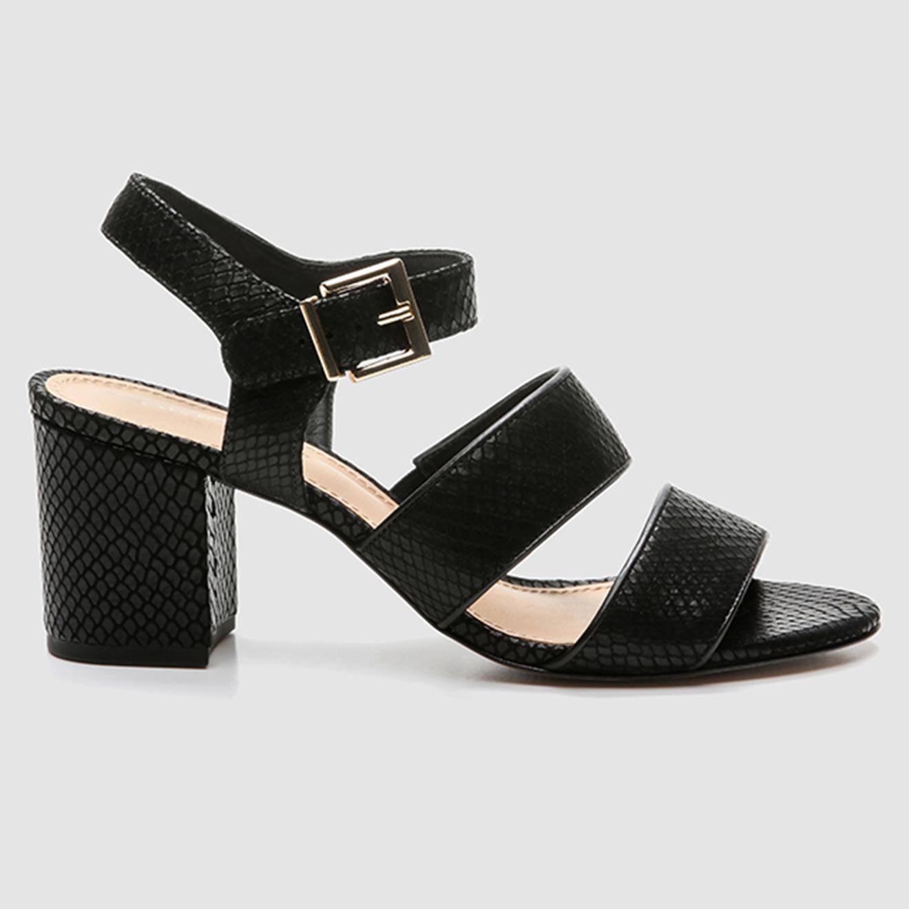 Sandales en Cuir python Jomea - Talon 6 cm - Cosmoparis - Modalova