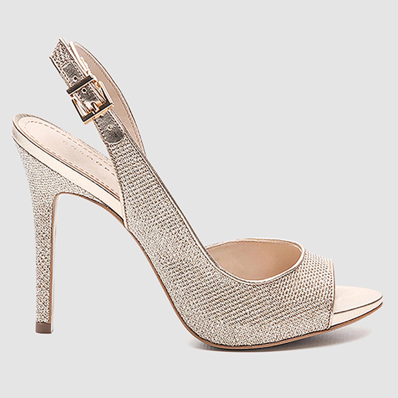 Sandales Joss à paillettes - Talon 10 cm - Cosmoparis - Modalova