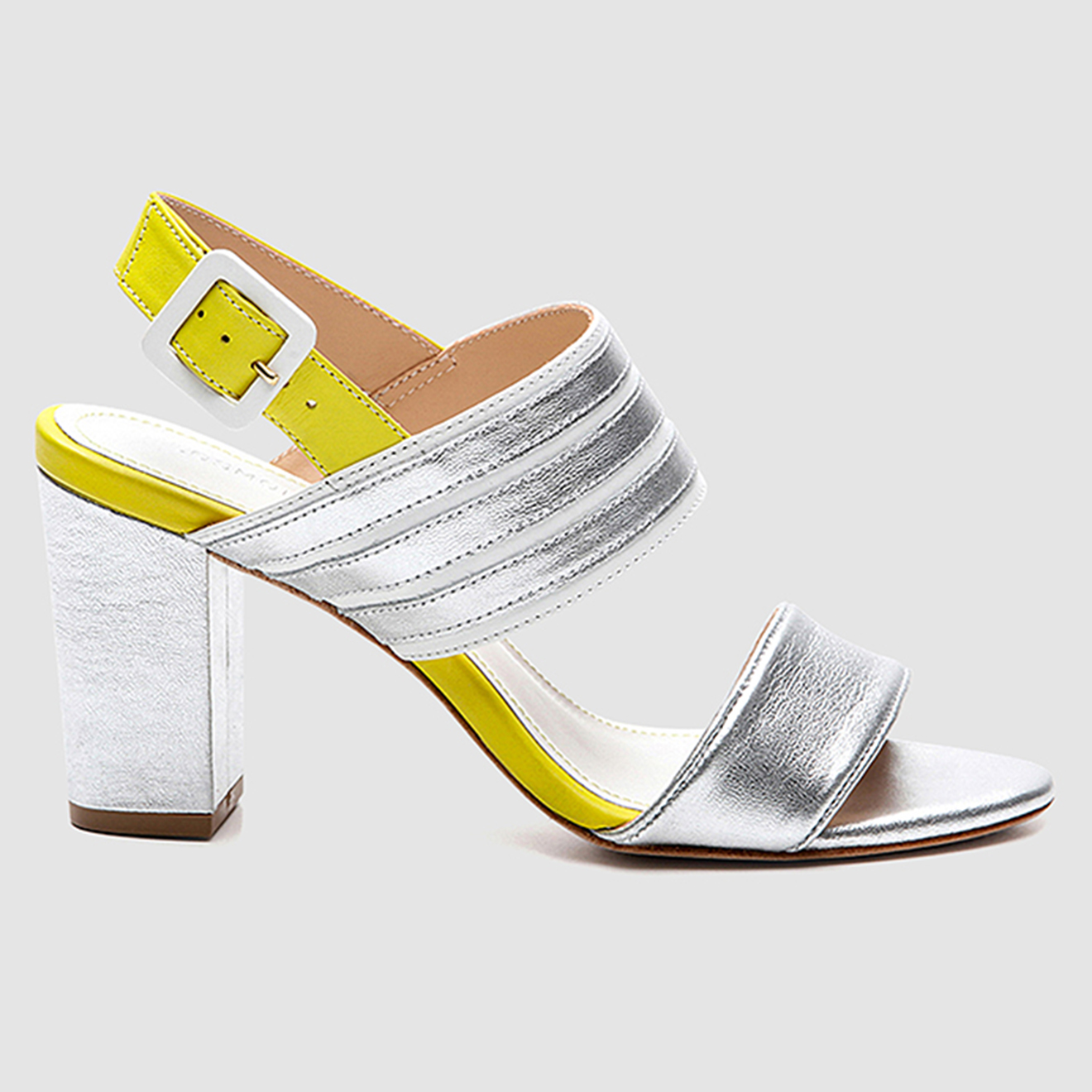 Sandales en Cuir Kaboom - Talon 7 cm - Cosmoparis - Modalova