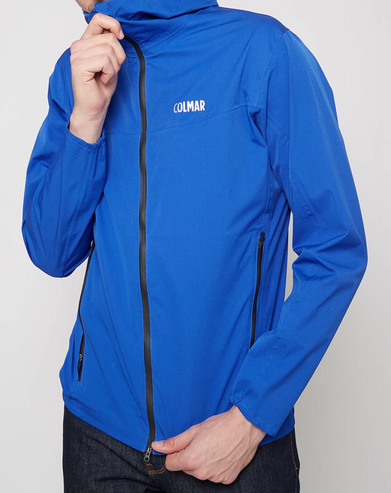 Veste à capuche Stretch WaterShield bleue - Colmar - Modalova