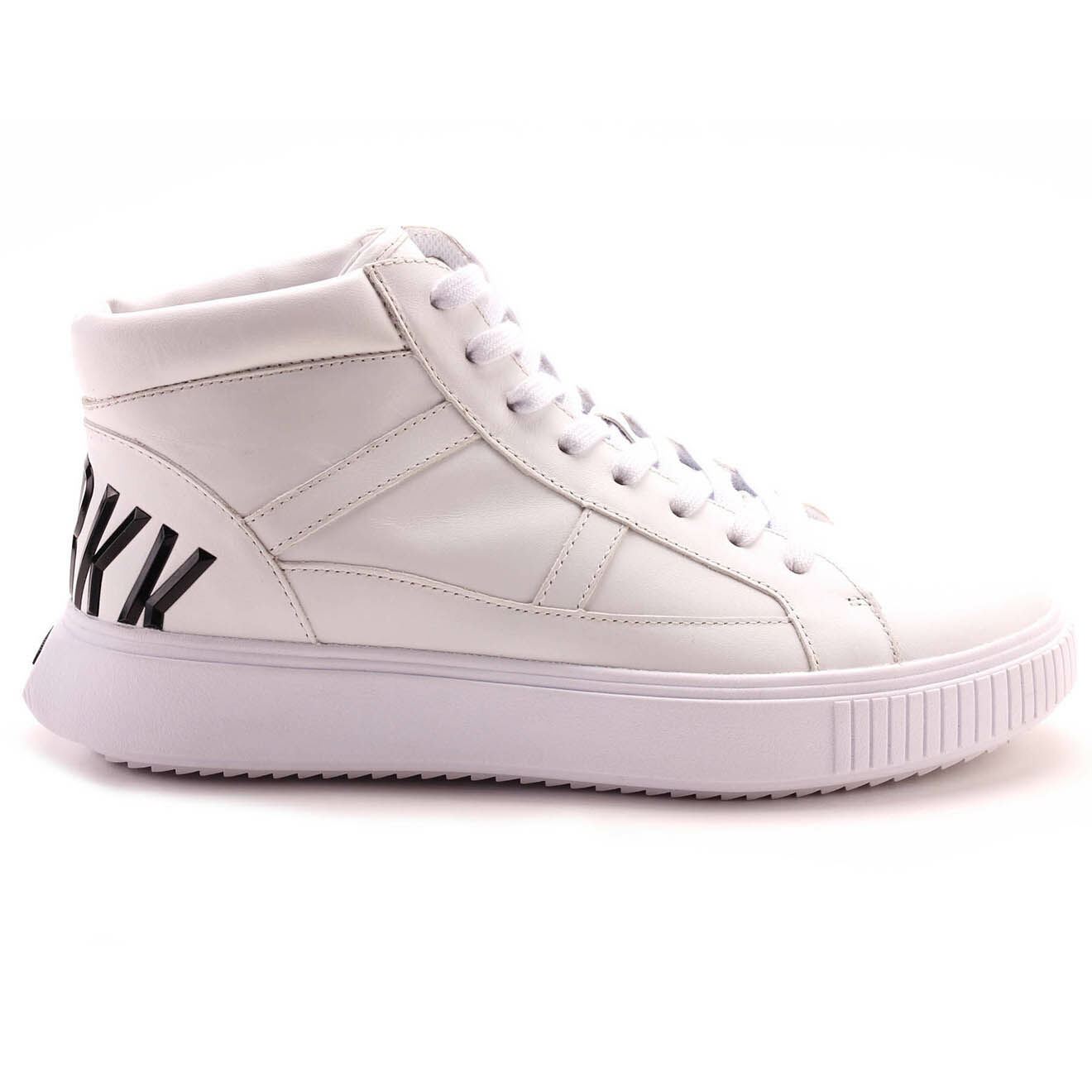 Sneakers montantes en Cuir Colbin blanches - Bikkembergs - Modalova