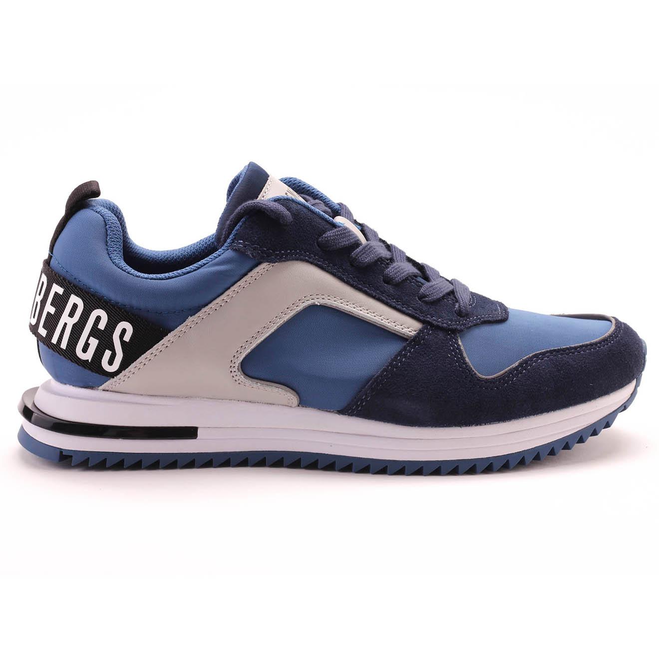 Sneakers Hector en Cuir bleu marine - Bikkembergs - Modalova