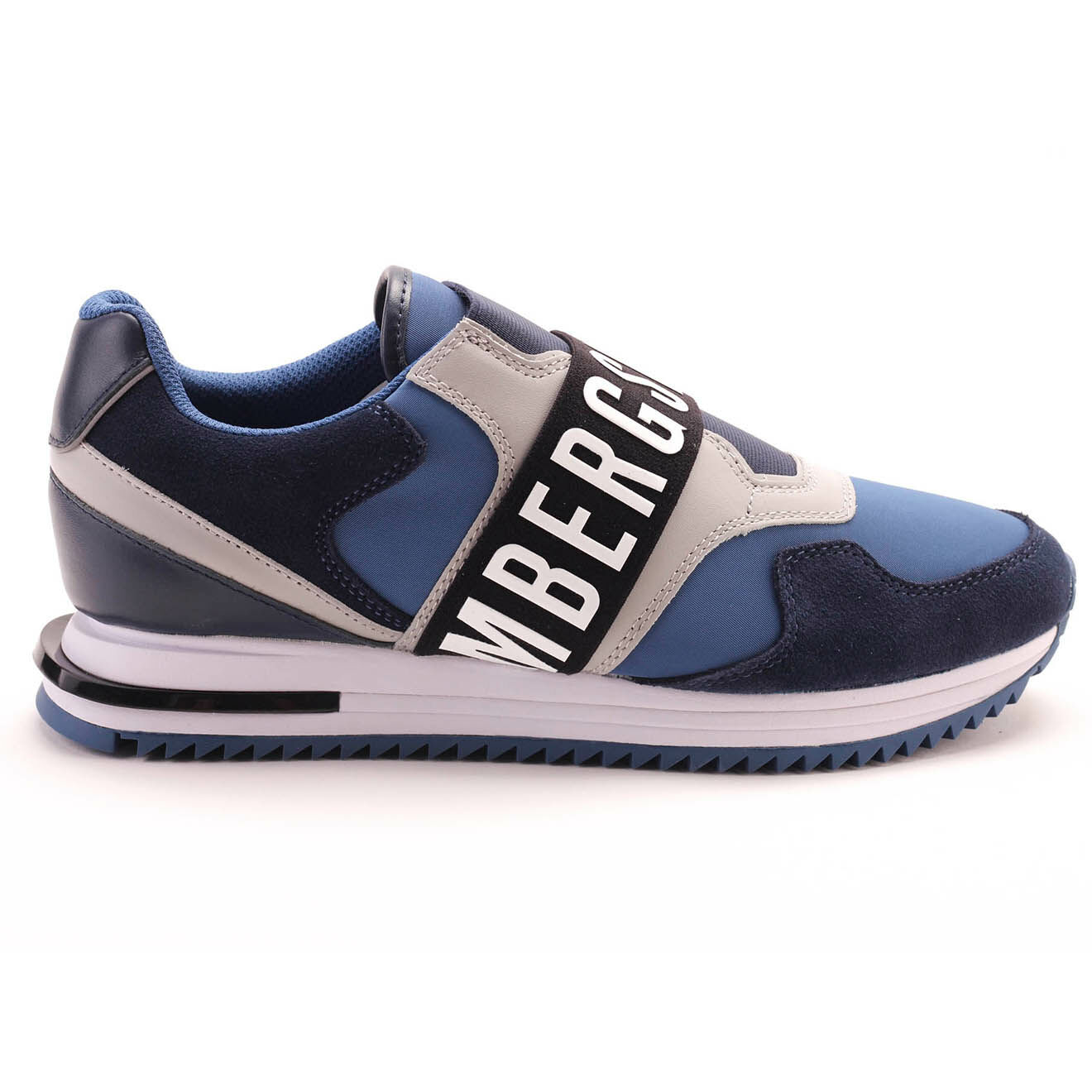 Sneakers Haled en Cuir bleu marine - Bikkembergs - Modalova