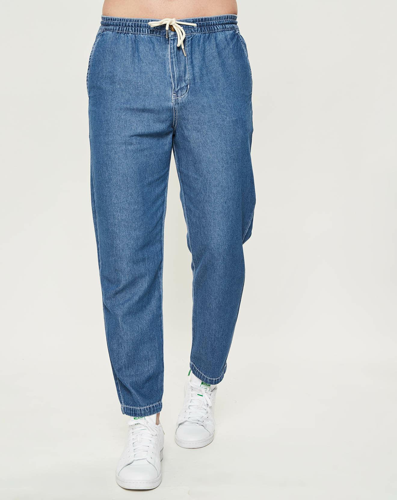 Pantalon Denim bleu - Quiksilver - Modalova